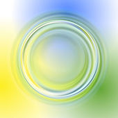 Green yellow blue abstract background — Cтоковый вектор