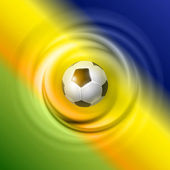Creatief voetbal vector design — Stockvector