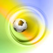 Yaratıcı futbol vektör tasarımı — Stok Vektör