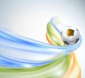 Creative Soccer Vector Design — Vector de stock