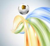 Creative Soccer Vector Design — Stockvektor