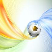 Creative Soccer Vector Design — Stock Vector