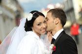 Beautiful wedding photography — Stock Photo