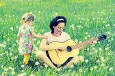 Mère et fille — Photo