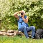 Man photographer — Stock Photo #49899441