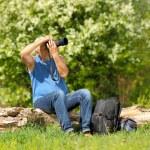 Man photographer — Stock Photo #49899447