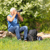Man photographer — Stock Photo
