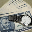 Money and watch — Stock Photo #11196091