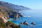 Ocean view in california — Stock Photo