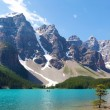 båtliv på moraine lake — Stockfoto #25862731