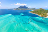 Mount otemanu at bora bora — Stock Photo