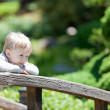 Kid at the park — Stock Photo