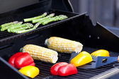Vegetables ready for grilling — Stock Photo