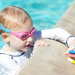 Boy at the pool — Stock Photo #29817227