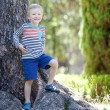 Boy in the woods — Stock Photo #30127759