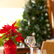 Christmas table setting — Stock Photo #31914281
