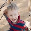 Kid at the swing — Stock Photo #38278135