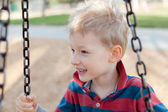 Kid at the playground — Foto de Stock