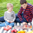 Family picnic — Stock Photo #43343005