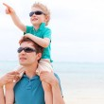 Family at vacation — Stock Photo
