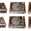 Old record-player set - Zdjęcie stockowe