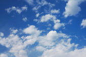 Wolkengebilde — Stockfoto