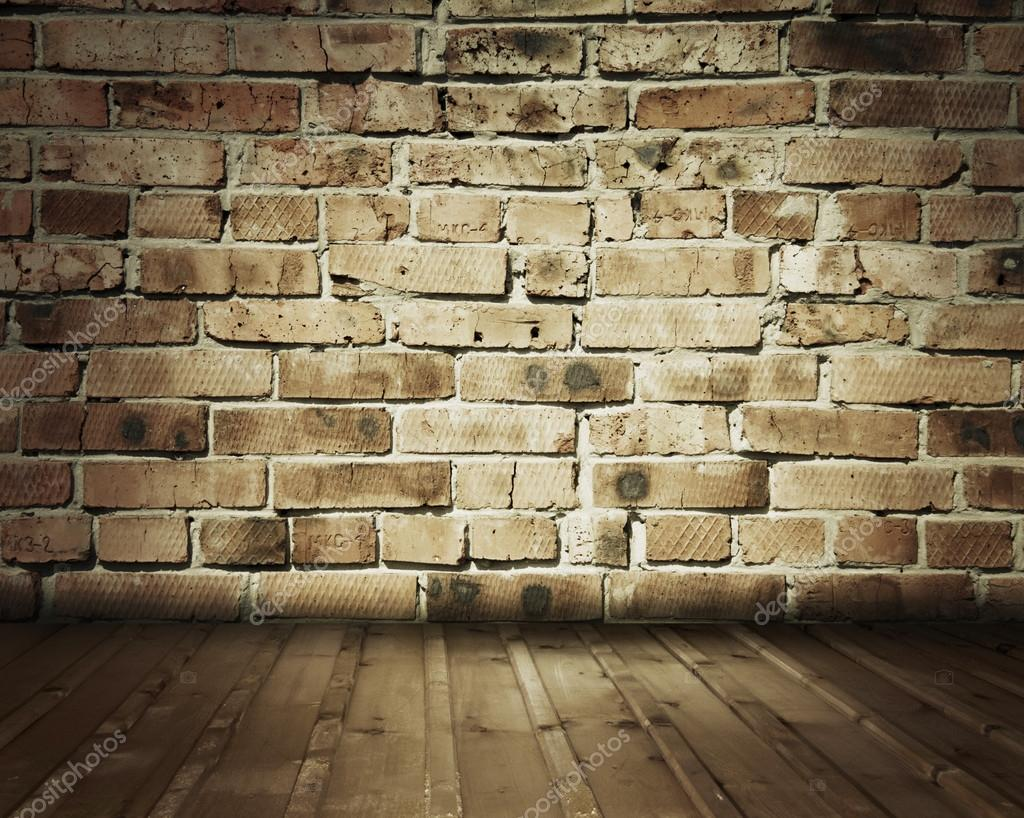Old Room With Brick Wall Stock Photo Avlntn 13896222