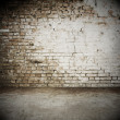 Brick wall, vintage background — Stock Photo #21657367