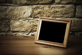 Old photo frame — 图库照片