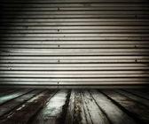 金属房间 — 图库照片