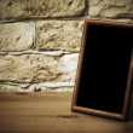 Old photo frame — Stock Photo #27160883