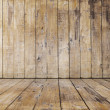Old wooden room — Stock Photo