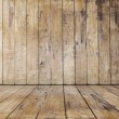 Old wooden room — Stock Photo #31537327