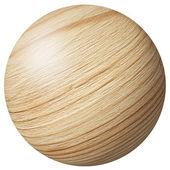 Bola de madera — Foto de Stock