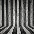 Stock Photo: Stripes wooden wall