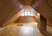 Wooden loft — Stock Photo