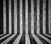 Stripes wooden wall — Stock Photo