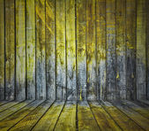 Painted wooden wall — Stock Photo