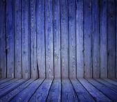 Pared de madera pintada — Foto de Stock