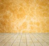 Yellow modern interior — Stock Photo