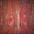 Painted wooden wall — Foto de Stock