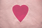 Background vintage heart — Stock Photo