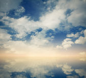 Cloudy background — Stock Photo