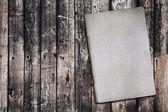 Kniha o staré dřevo textury — Stock fotografie