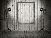 Zimmer mit Fotorahmen — Stockfoto