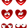 Love cute smiles — Stock Vector #18916253