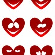 Love smiles — Stock Vector #18916255