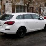 ������, ������: New Opel Astra J white