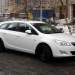 ������, ������: Opel Astra J white