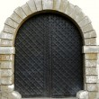 Stock Photo: Old arched door